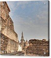 Sukhothai Historical Park - Sukhothai Thailand - 01138 Acrylic Print