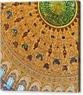 Suleiman Mosque Interior 08 Acrylic Print