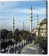 Suleymanhe Mosque, The Bizaar Quarter Acrylic Print