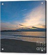 Sullivan's Island Sc Sunrise Acrylic Print