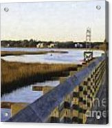 Sullivan's Island To Old Village Acrylic Print