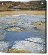 Sulphur And Volcanic Earth Acrylic Print