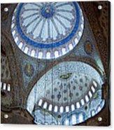 Sultan Ahmed Camii Blue Mosque Istanbul Turkey Acrylic Print