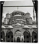 Sultan Ahmed Mosque Acrylic Print