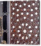 Sultan Ahmet Mausoleum Door 01 Acrylic Print