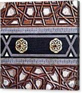Sultan Ahmet Mausoleum Door 03 Acrylic Print
