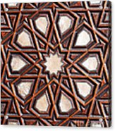 Sultan Ahmet Mausoleum Door 04 Acrylic Print