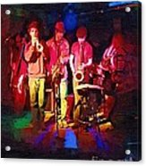 Sultans Of Swing Acrylic Print