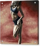 Sultry Dancer Acrylic Print