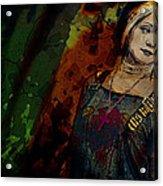 Sum Angle Gothic Portrait Acrylic Print