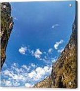 Sumidero Canyon Sky Acrylic Print