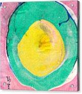 Suminagashi Circles Acrylic Print
