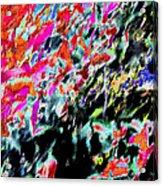 Summer Abstract Acrylic Print