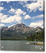 Summer At Pyramid Lake Acrylic Print