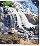 Summer At The Falls Acrylic Print