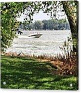 Summer At The Lake Acrylic Print
