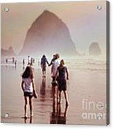 Summer At The Seashore  Acrylic Print