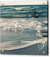 Summer Beach Acrylic Print
