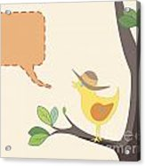 Summer Bird Acrylic Print