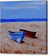 Summer Boats Acrylic Print