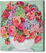 Summer Bouquet Acrylic Print