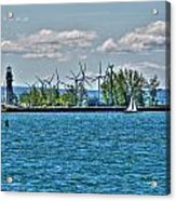 Summer Breeze From Lasalle Park Acrylic Print