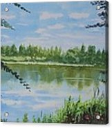 Summer By The River Acrylic Print