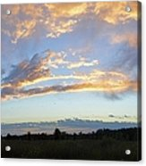 Summer Clouds Acrylic Print