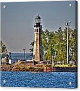 Summer Day View Of The Lighthouse  Acrylic Print