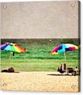 Summer Days At The Beach Acrylic Print