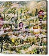 Summer Eden Acrylic Print