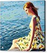 Summer Eve Acrylic Print