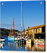 Summer Evening At The Harbour Acrylic Print
