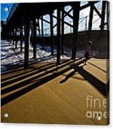 Summer Evening In Seal Beach Acrylic Print