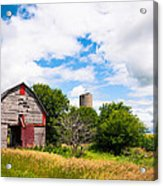 Summer Farm Acrylic Print