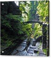Summer Gorge Acrylic Print
