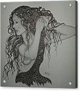 Summer Hair Acrylic Print