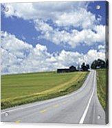 Summer Highway Acrylic Print