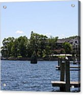 Summer Impression Lake Winnipesaukee Acrylic Print