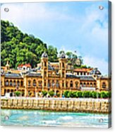 Summer In St Sebastian Acrylic Print