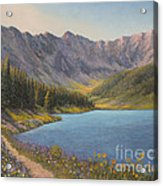 Summer In The Rockies Acrylic Print