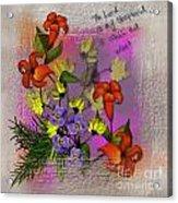 Summer Inspiration Acrylic Print