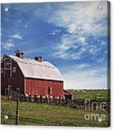 Summer Mancos Barn  Acrylic Print