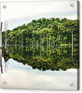 Summer Morning On Monksville Reservoir 2 Acrylic Print by Gary Heller