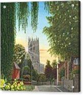 Summer Morning St. Mary Acrylic Print