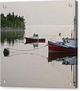Summer Morning Stillness Acrylic Print