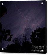 Summer Night Lightning Acrylic Print