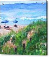 Summer On The Beach Acrylic Print