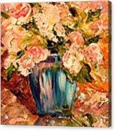 Summer Petals Acrylic Print by Barbara Pirkle