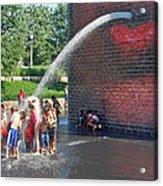 Summer Shower Acrylic Print